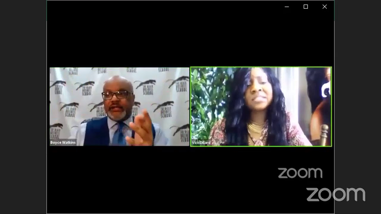 Do #Oprah and #Gayle have an agenda? - Dr Boyce & Vicki Dillard