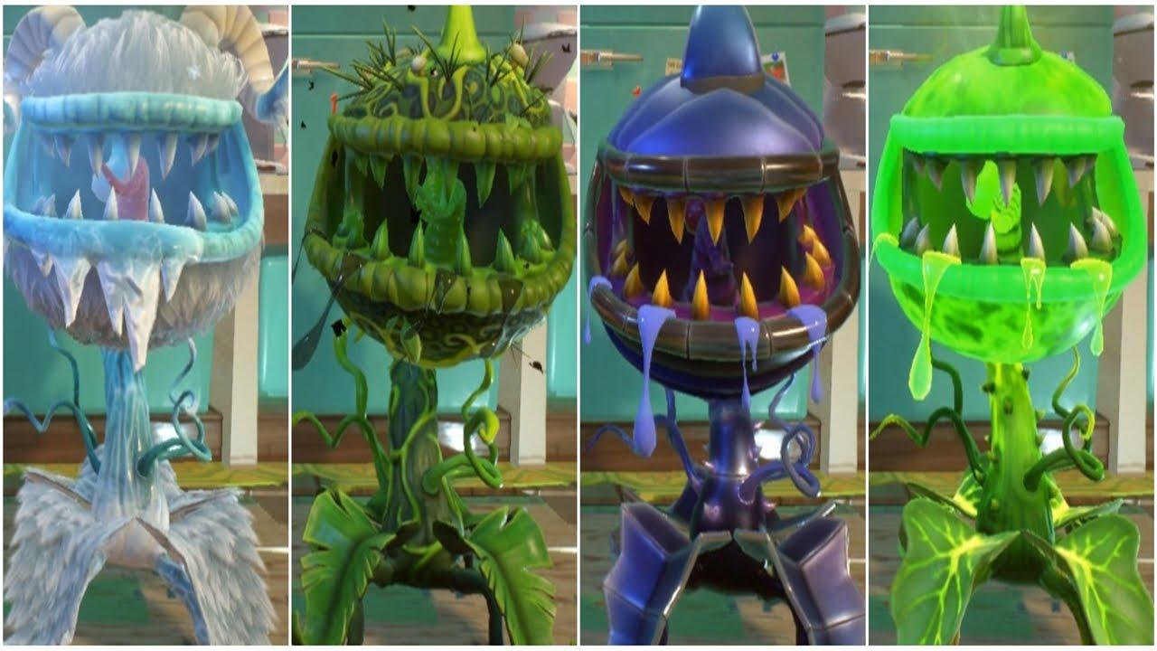 Plants Vs Zombies Garden Warfare 2 All Chomper Pvzgw2
