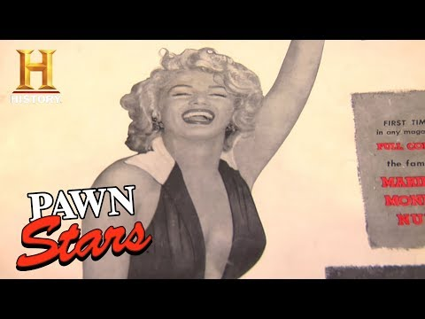 Best of Pawn Stars: Playboy Magazine First Issue | History
