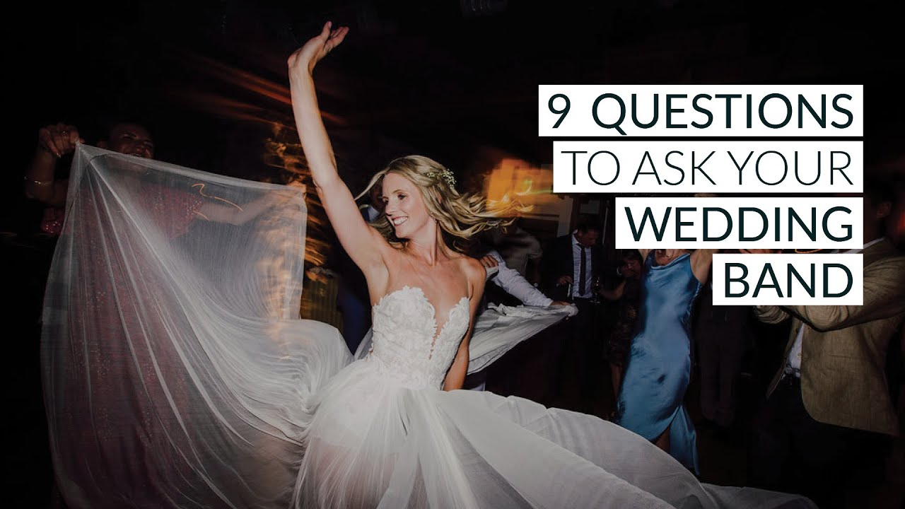 9 Essential Questions To Ask Your Wedding Music Band