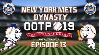 Out of the Park Baseball (OOTP) 19: New York Mets Dynasty - 2019 NLCS Part 2 [EP13]