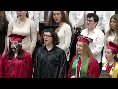 Whitman Hanson Regional High School 2018 Graduation.