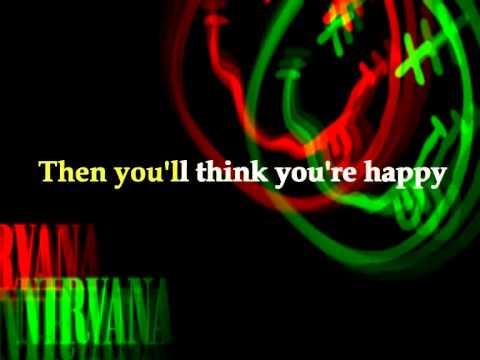 NIRVANA - Sappy with lyrics [Karaoke version]