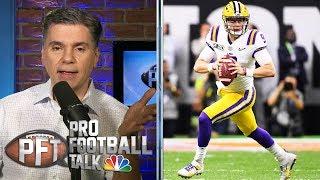 NFL Draft 2020: Does Joe Burrow have any leverage against Bengals?   Pro Football Talk   NBC Sports