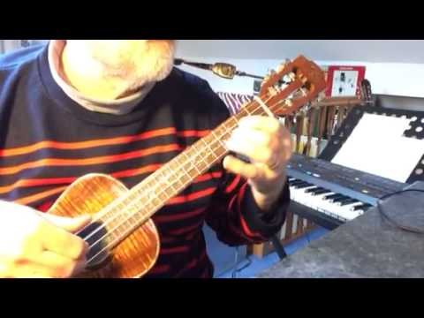 The Ballad of Bonnie and Clyde - Solo Ukulele - Colin Tribe on LEHO