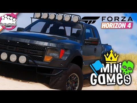 FORZA HORIZON 4 - MINISPIELE : Pickups wollen auch nur spielen - Forza Horizon 4 MULTIPLAYER