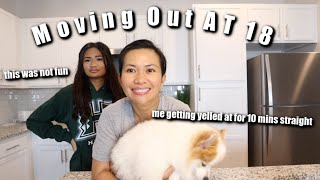 MOM TEACHES UNSKILLED DAUGHTER HOW TO COOK   MOVING OUT AT 18 (part 3)