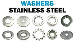 The Many Varieties of Stainless Steel Washers | Fasteners 101