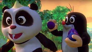 Кротик и Панда  - сборник - Соревнования и конкурсы в бамбуковом лесу!-  развивающий мультф