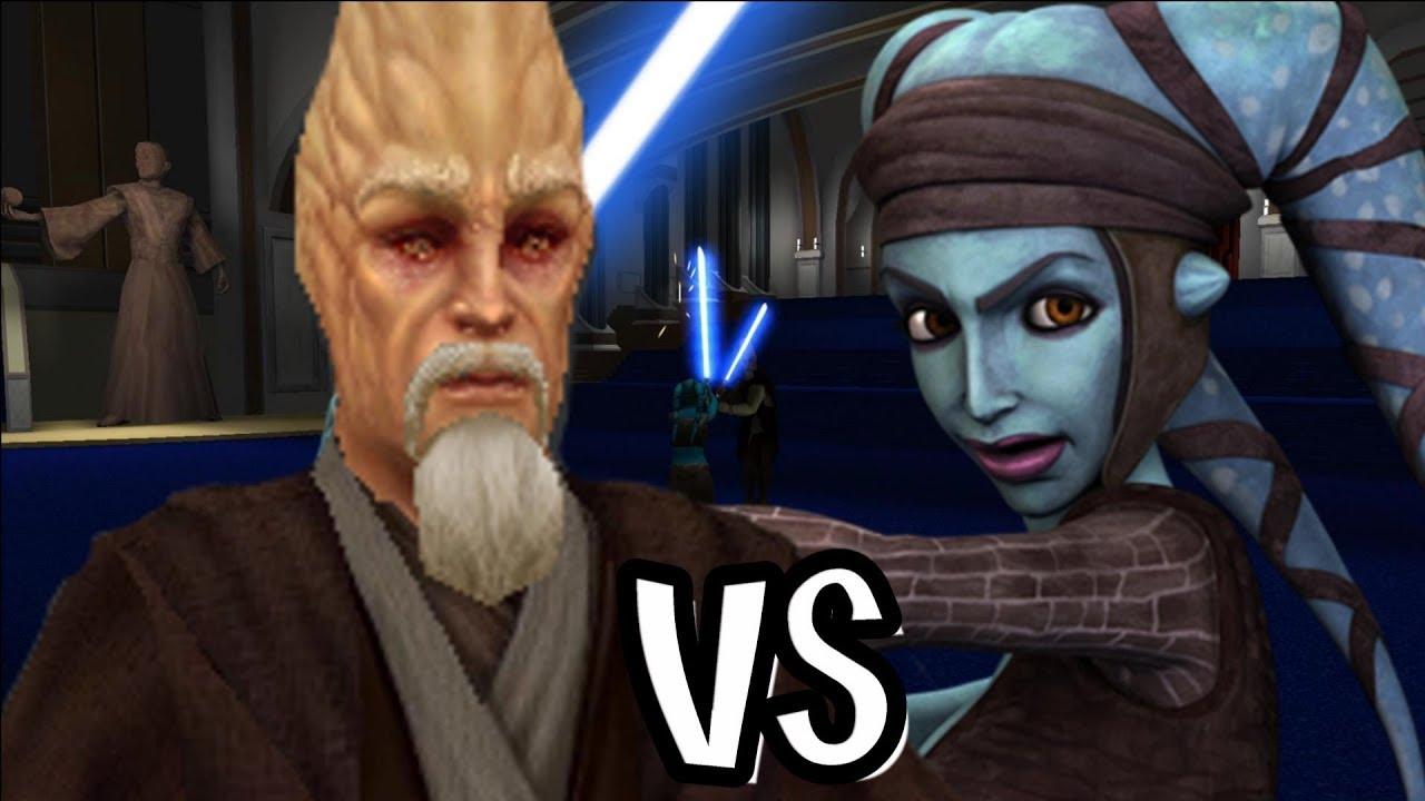 Ki Adi Mundi Vs Aayla Secura - Jedi Academy