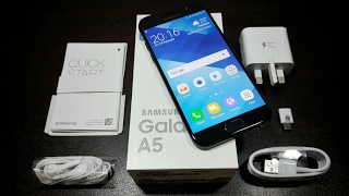 Samsung Galaxy A5 2017 Unboxing!