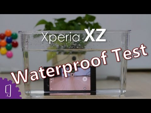 outlet store 29041 83a02 Sony Xperia XZ Waterproof Test