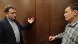 видео К вопросу о раздвижных дверях