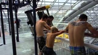 Fast Indoor Waterpark Slides West Edmonton Mall