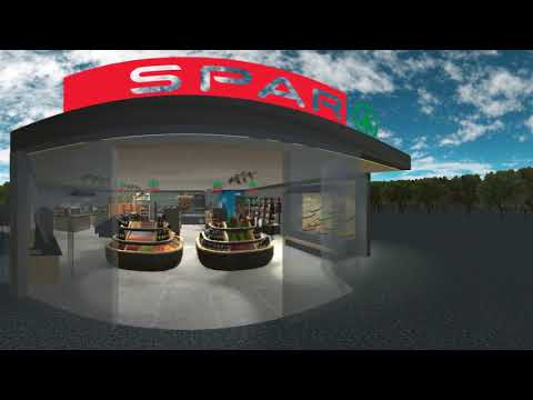 SPAR Virtual Reality Store of the Future