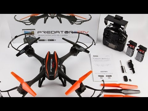 DBPOWER UDI U842 Review Predator WiFi FPV Drone Toys Hobbies