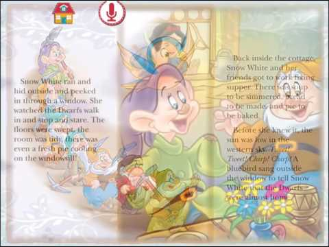 Snow White and the Seven Dwarfs Snow White Disney Story Audio Book for children   Read out loud