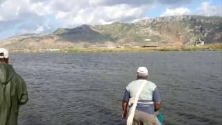 Asi Nehrinin Yağmurdan Sonra Deniz İle Buluşması.( Asi River Meeting The Sea )