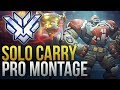 When Pros Solo Carry #4 - Overwatch Montage
