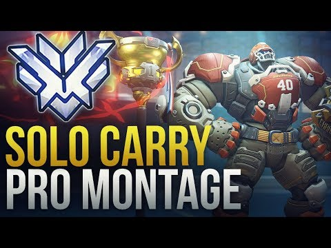When Pros Solo Carry #4 - Overwatch Montage thumbnail