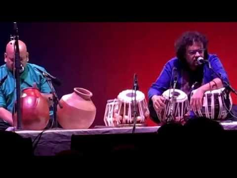 Bickram Ghosh's Drums Of India- Tabla concert clips