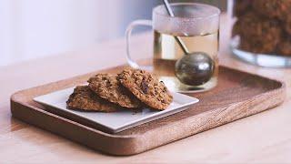 [ENG]자세한 설명과 함께 ♥쫀득한 오트밀 쿠키 만들…
