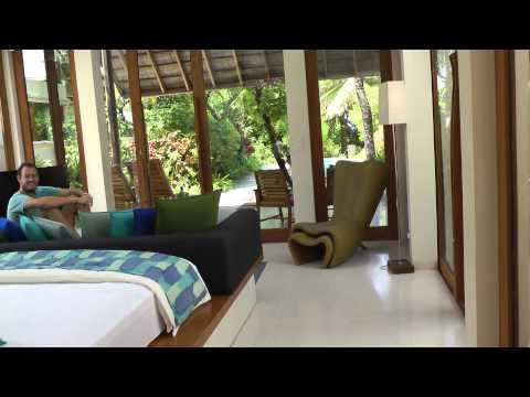 Hotel Review: King Deluxe Beach Villa At The Conrad Maldives Hotel On Rangali Island