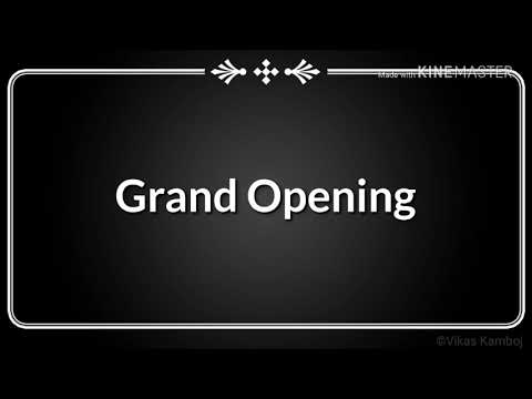 Grand Opening THE BROS' HAIR STUDIO