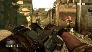 Blacksite: Area 51- ALL weapons Xbox 360