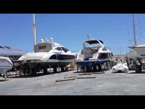 Puerto Banus Marina repair yard