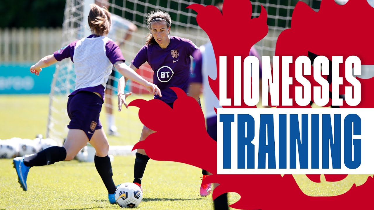 Silky Skills, Head-To-Head Matches & Shooting Practice | Inside Training | Lionesses