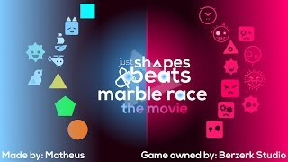 Just Shapes and Beats Marble Race - The Movie