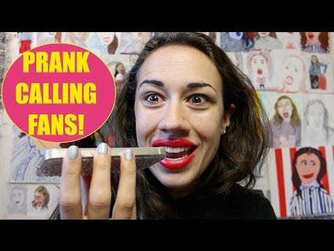 PRANK CALLING FANS!