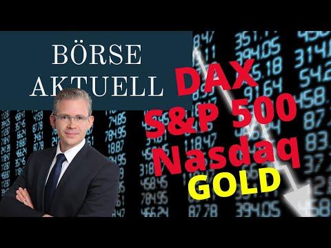 BÖRSE AKTUELL – DER Wochenausblick für Dax, Gold- & Ölpreis