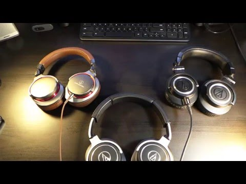 The Best Of Audio Technica M50X, M70X, & MSR7 ( The Trifecta Review )
