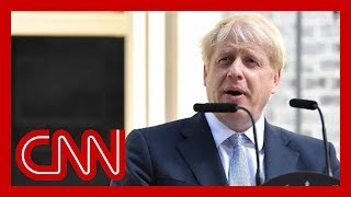 Hear Boris Johnson's first speech as UK Prime Minister