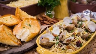 Home & Family - Chef Fabio Viviani's Spaghetti In White Clam Sauce