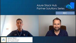 Azure Stack Hub Partner Solutions Series – RFC
