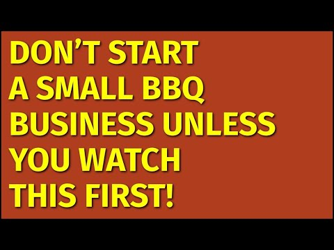 How To Start A Small BBQ Business | Including Free Small BBQ Business Plan Template