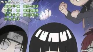 naruto Rock Lee no Seishun Full Power Ninden ending