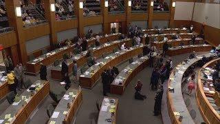 Legislators send bills to governor during special session