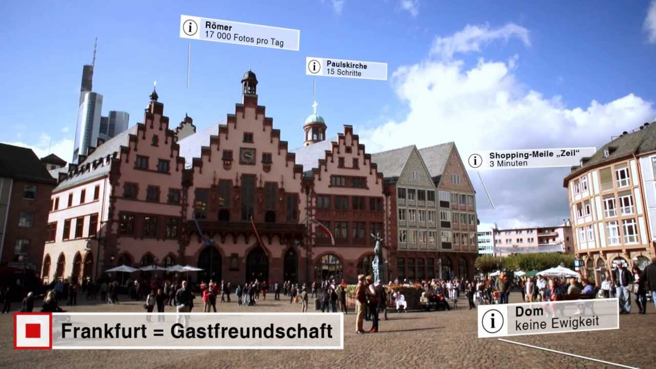 Frankfurt am main f r ber der richtige ort youtube for Innenarchitekt frankfurt am main