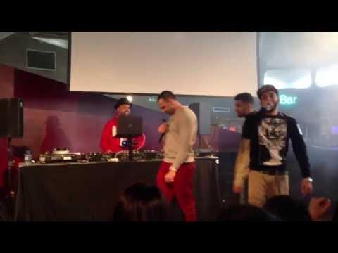 Steel banglez - Tazzz Jhoom remix ft Words Ali, Menis, Immi AND RAXSTAR LIVE