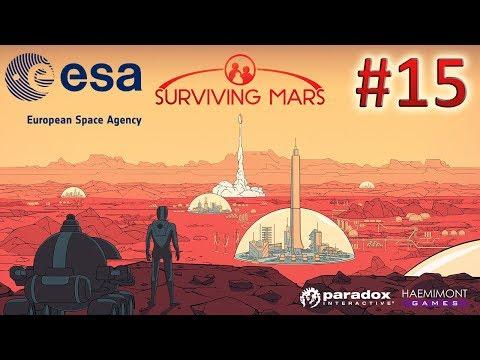 Surviving Mars - Agência Espacial Europeia (ESA) - ep 15