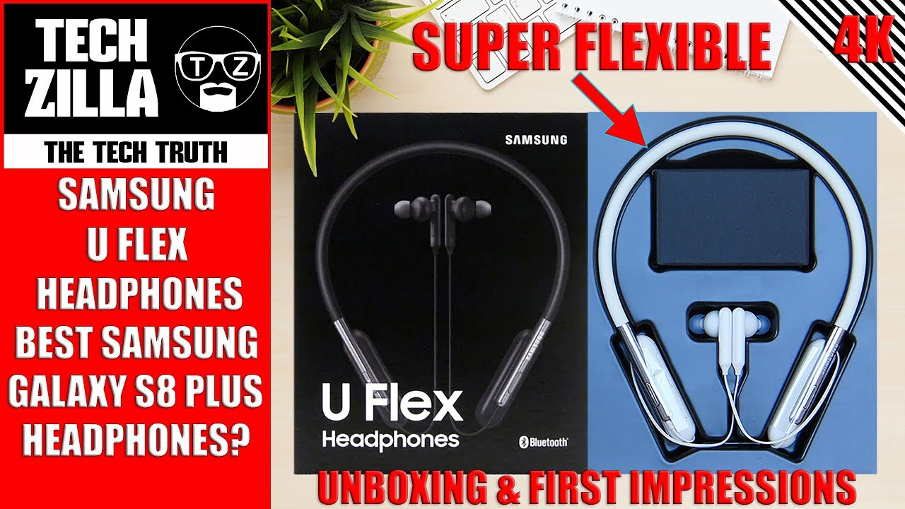 884966156d7 Samsung U Flex Headphones Unboxing and First Impressions 4K - YouTube