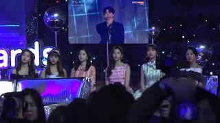 #TWICE reaction to #EXO Full perf [forever+The Eve + Vcr + KoKoBop] at Melon Music Awards 2017