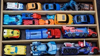 Optimus Prime vs Bumblebee Transformers: Robots in Disguise Autobot Decepticons Tobot Mainan Car Toy