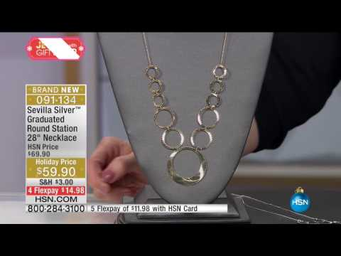 HSN | Sevilla Silver with Technibond Jewelry Gifts 11.30.201
