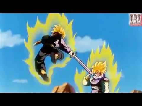 Goku vs Future Trunks Sub Indo Dragon Ball Z - DBZ Fight