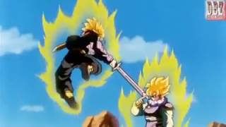 Video Goku vs Future Trunks Sub Indo Dragon Ball Z - DBZ Fight download MP3, 3GP, MP4, WEBM, AVI, FLV Maret 2018